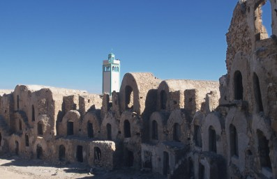 Túnez, Gran Sur, Beni Blel, Ksar, Gorfas