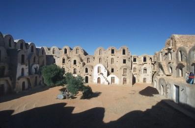 Túnez, el Ferch, llamados Ksar , antiguos graneros