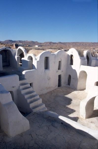 Túnez, gran Sur, Haddada, un Ksar transformado en hotel