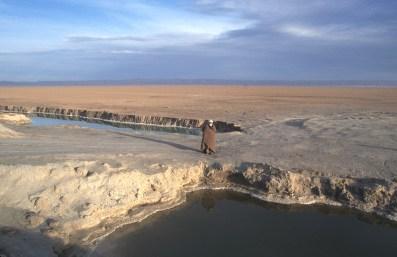 Túnez, Salar El Jerid, el Hombre del Sahara