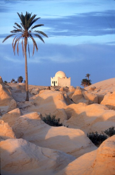 Túnez, Gran Sur, Becheri, Marabout