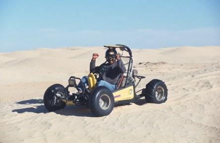 Túnez, oasis de dunas, Douz, Cart, transporte
