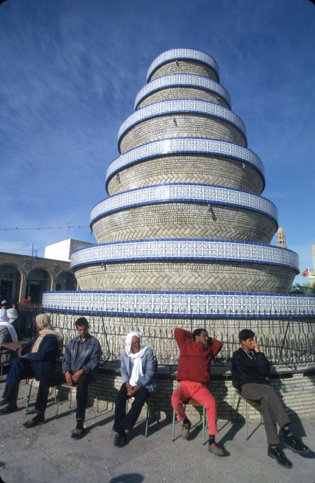 Túnez, oasis de dunas, Tozeur, medina