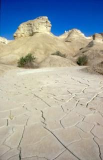 Israel, Mar Muerto, montaña de Sodoma
