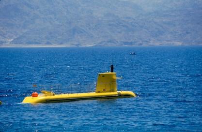 Israel, Eilat, Mar Rojo, observatorio marino, submarino , transporte