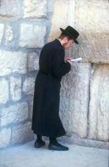 Israel, Jerusalén, Muro de la Lamentaciones, retrato