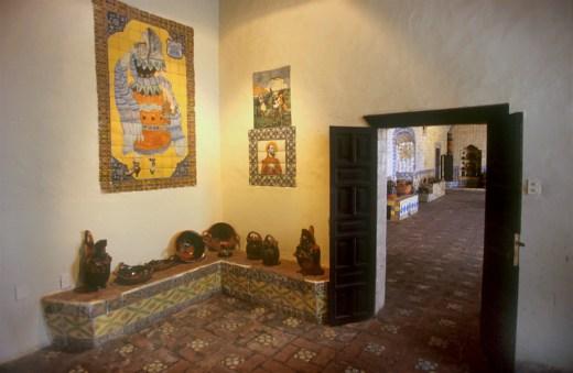 México, Puebla, convento santa Rosa