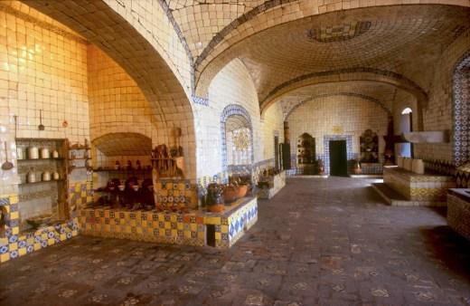 México, Puebla, convento santa Rosa, cocina