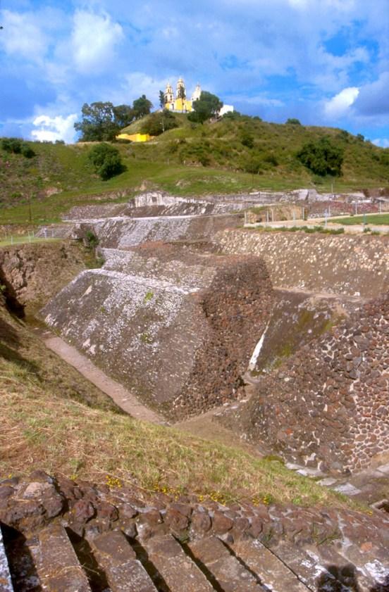 México, Estado Puebla, Cholula, piramide