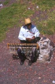 México, Teothiuacan, vendedor ambulante