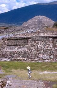 México, Teotihuacan, Pirámides de la Luna