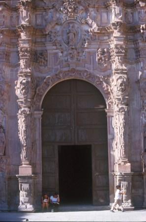 México, San Miguel de Allende, iglesia San Francisco