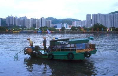 Hong Kong, Puerto, Juncos, limpian el puerto
