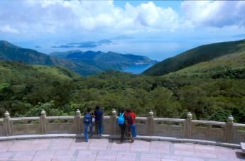 Hong Kong, monasterio Po Lin, Isla Lantau