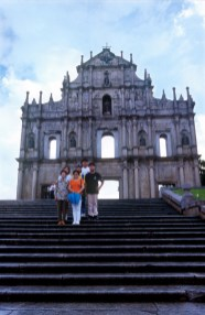 Macao, Fachada iglesiaSao Pablo