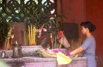 Macao, Templo A-Ma, ofrenda