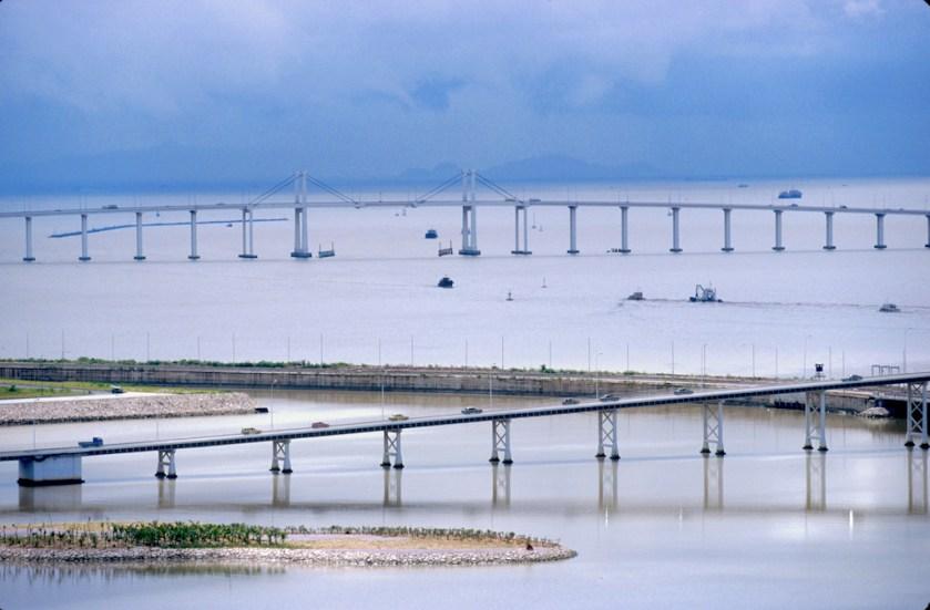 Macao, puentes de Macao a la isla Taipa