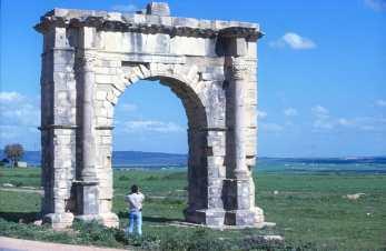 Túnez, Musti, Puerta Romana, puerta