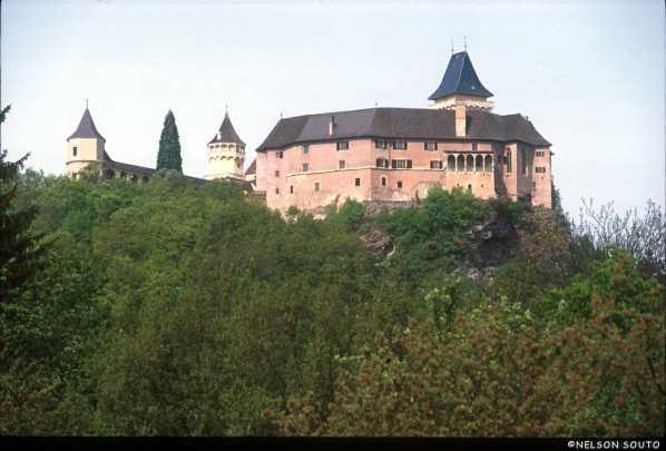 Castillo de Rosenburg, demostración de Cetrería