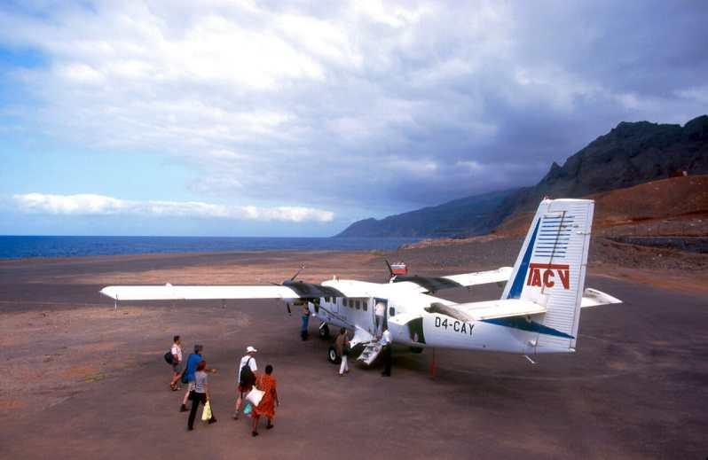 Cabo Verde, Isla Santo Antao. Aeropuerto