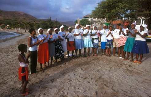 Cabo Verde, Isla Santiago, Tarrafal, Batucada,