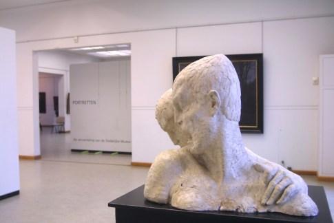 Flandes, Ostende, Museo de Bellas Artes, escultura