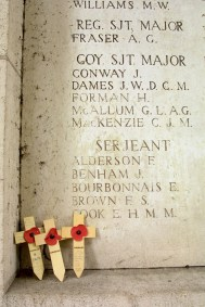 Bélgica, Flandes, Ieper, cementerio militar 1era Guerra Mundial