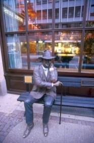 Alemania, Baja Sajonia, Hannover, escultura de Seward Johnson,