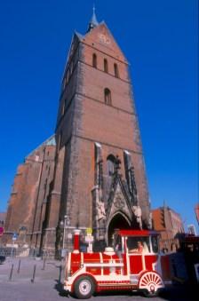Baja Sajonia, Hannover, iglesia del mercado, transporte