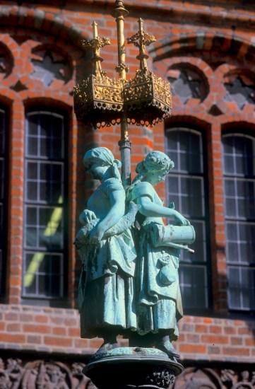 Alemania, Baja Sajonia, Hannover, antiguo Ayuntamiento