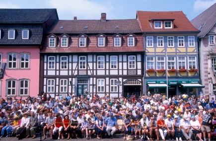 Alemania, Baja Sajonia, Hameln, Espectáculo del Flautista