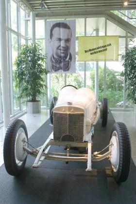 Alemania, Baden-Wurtemberg, Stuttgart, Stuttgart, museo Mercedes Benz, Circuito de Monza 1924