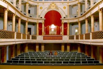 Alemania, Baden-Wurtemberg, Ludwigsburg, palacio Residenzschloss, Teatro