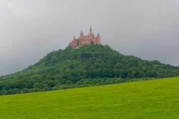 Alemania, Baden-Wurtemberg, Hechingen, castillo Hohenzollern, montaña Zoller