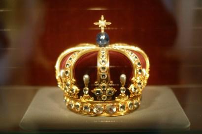 Alemania, Baden-Wurtemberg, Hechingen, castillo Hohenzollern, corona de reyes de Prusia
