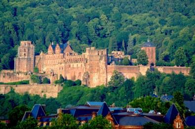 Alemania, Baden-Wurtemberg, Heidelberg, bosques Odín