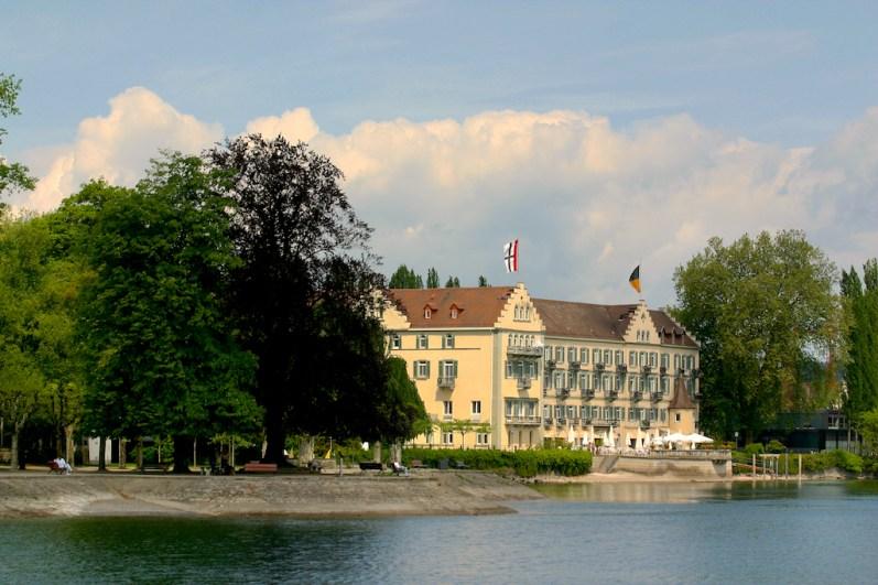Alemania, Lago de Constanza, Isla Steingenberg, Insel Hotel, Antiguo Convento
