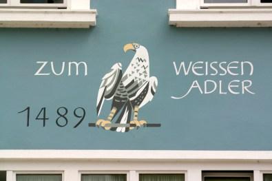 Alemania, Lago de Constanza, Aguila, animal, mural