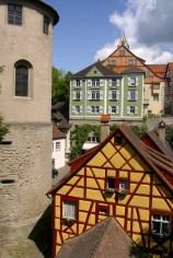 Alemania, Lago de Constanza, Meersburg, Ciudad Alta