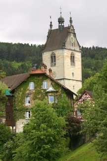Austria, Lago De Constanza, Bregenz, Frescos Torre de Martins