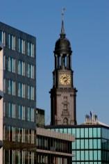 Alemania, Hamburgo, Torre St Michaelis