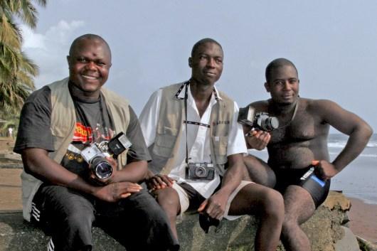 Camerún, Limbe,Playa de Limbe, fotógrafos, retrato