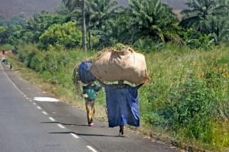 Camerún, Nkongsamba, campesinos