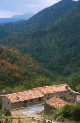 Catalunya, El Ripollès, Rocabruna, Alta Garrotxa