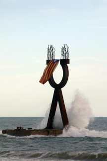 Tarragonès, Torredembarra, Alfa y Omega, Rafael Bartolozzi, escultura