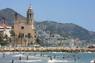 El Garraf, Sitges