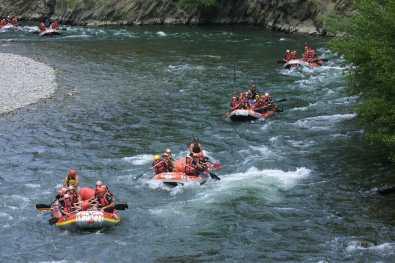 Catalunya, Pallars Sobira, Rafting, Río Noguera Pallaresa