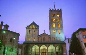 Catalunya, Gironès, El Ripollès, Ripoll, Monasterio de Santa Maria