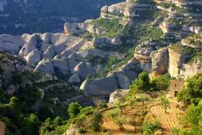 Catalunya, Les Garrigues Coll de la creueta
