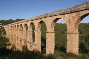 Catalunya, Tarragona, Acueducto, Ciudad Romana, Tarraco